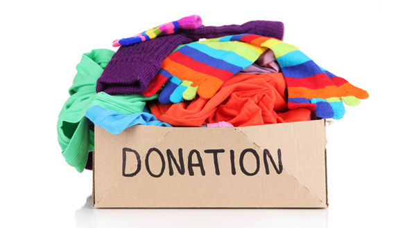 Donate new and gently used clothing and shoes, and new underwear and socks