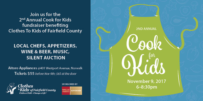 Fundraiser benefiting low-income in-crisis children in Fairfield County providing free school clothing