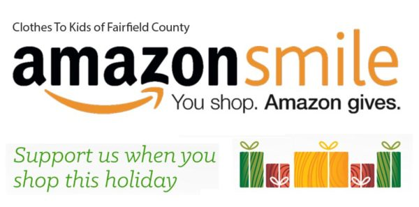 Support Clothes To Kids of Fairfield County with Amazon Smile