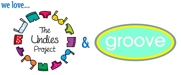 clothing donation partners the undies project and groove childrens clothing